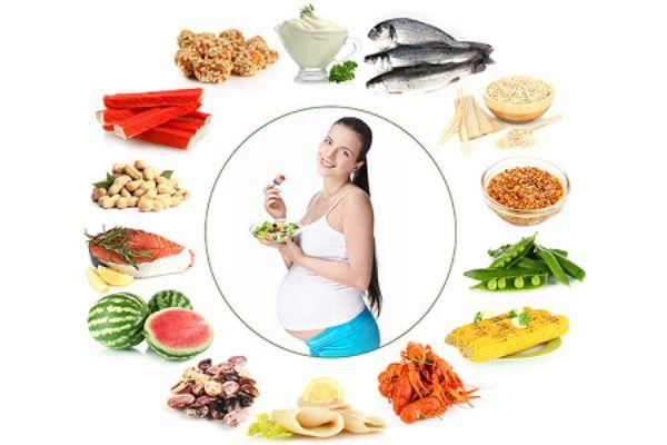 Những loại thực phẩm mẹ bầu nên ăn.