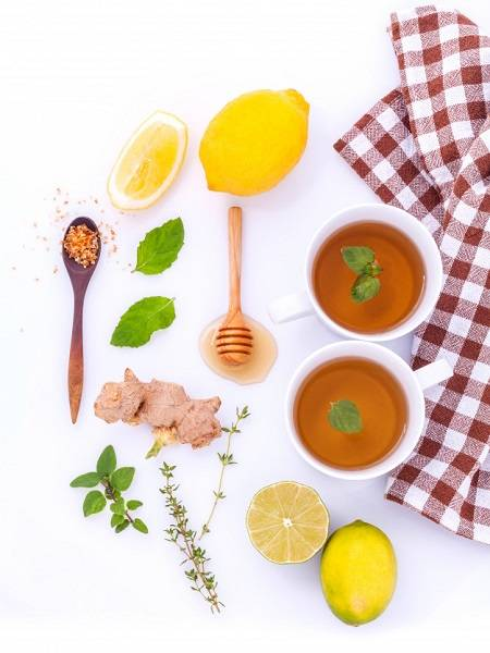 Nhấm nháp chút trà gừng hàng ngày là một trong những phương thức hoàn hảo để trị nghén.