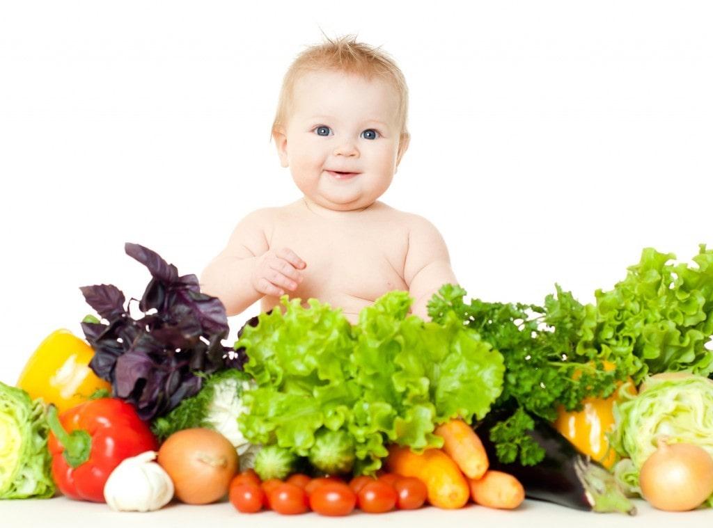 Bổ sung các loại thực phẩm xanh và sạch cho bé