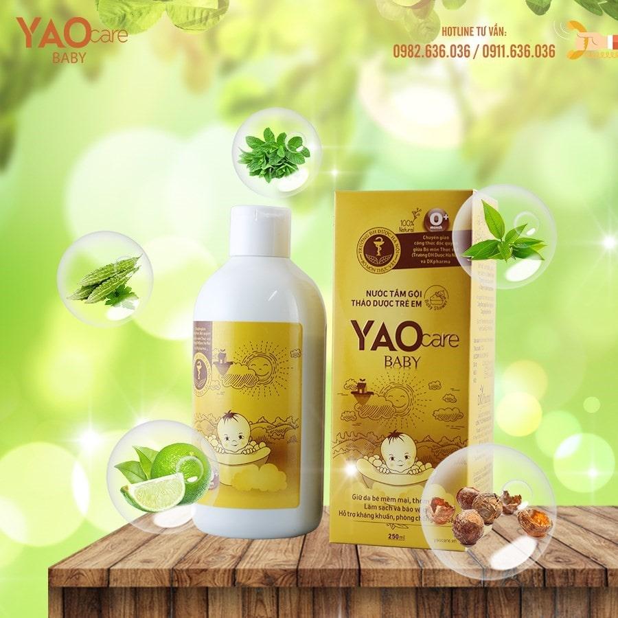 Thành phần thiên nhiên của sản phẩm Yaocare Baby