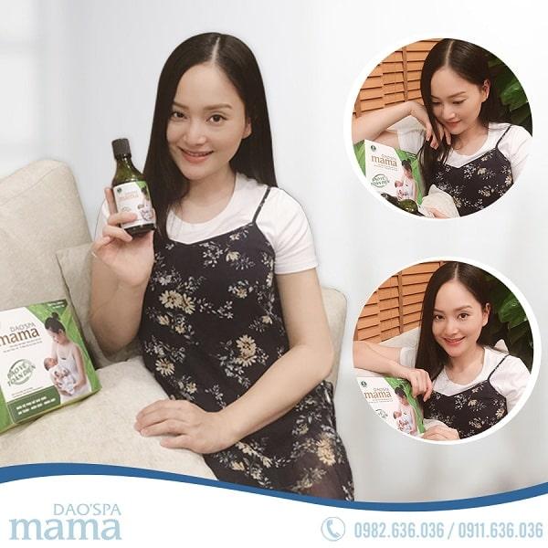 Diễn viên Lan Phương chia sẻ về Dao spa mama