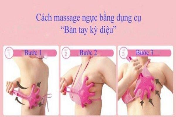 Động tác massage kiểu Nhật.