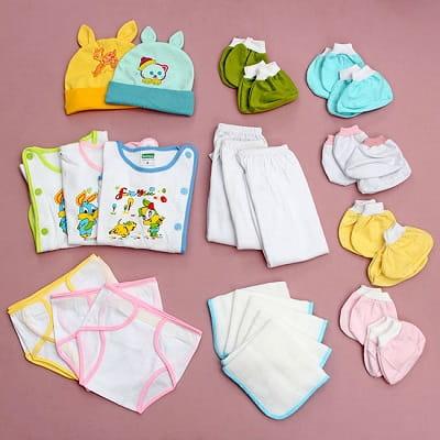 Các đồ dùng cần chuẩn bị cho bé sơ sinh.