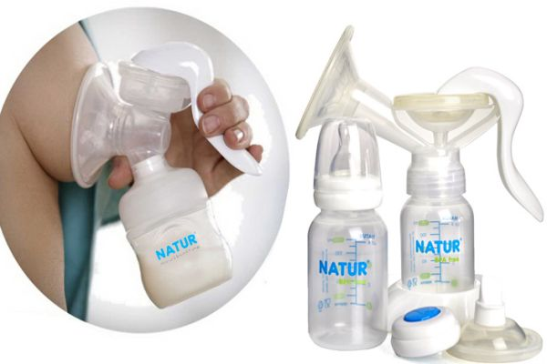 Dùng máy hút sữa sai cách có thể gây đau nứt và chảy máu đầu ngực.