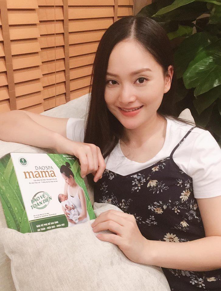 DIễn viên Lan Phương chia sẻ về sản phẩm Dao'spa mama