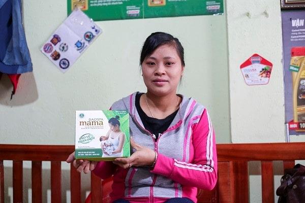 Sản phẩm Dao'spa mama được nhiều bà mẹ tin dùng