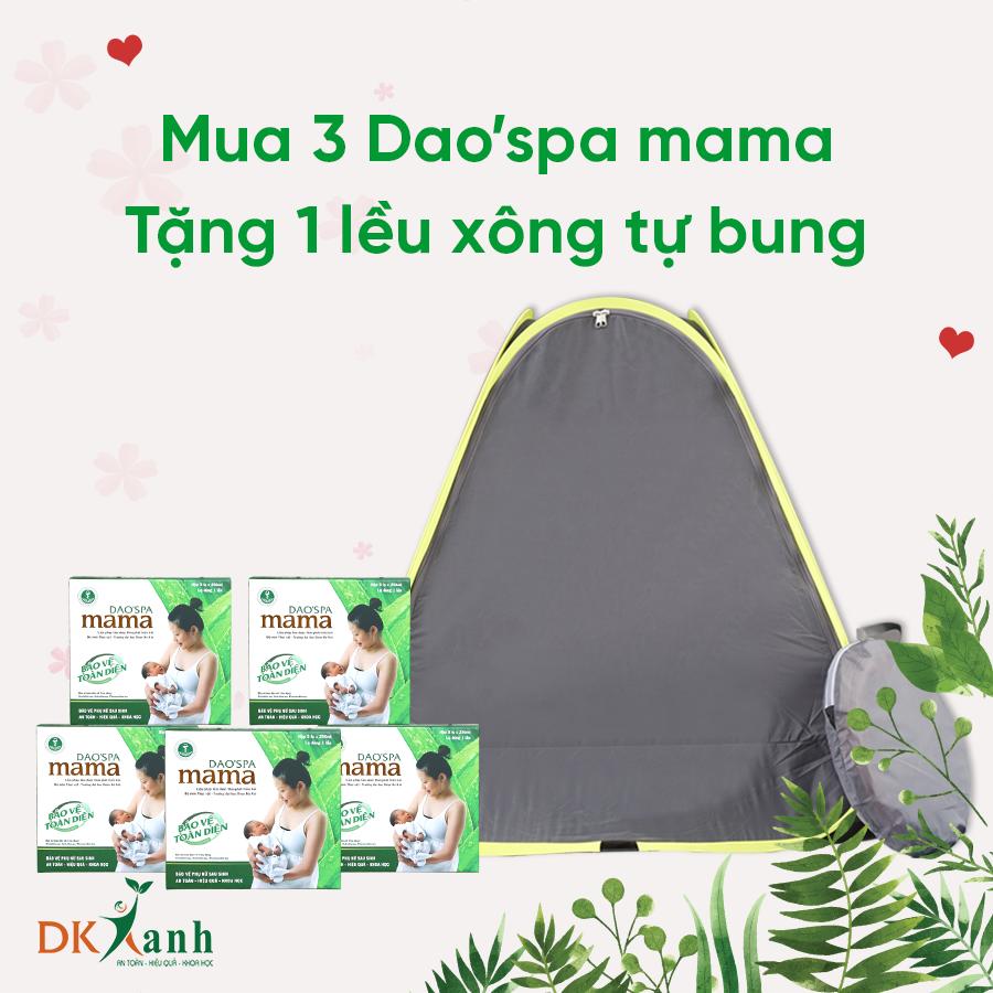 05 Dao'spa mama tặng lều xông cao cấp