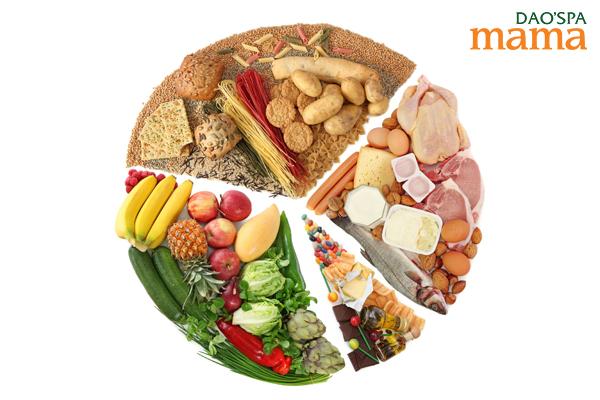 Chế độ dinh dưỡng đầy đủ, hợp lý tăng cường sức khỏe cho mẹ và bé