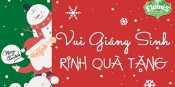 """Tưng bừng khuyến mại """" Vui giáng sinh – Ring quà tặng"""""""