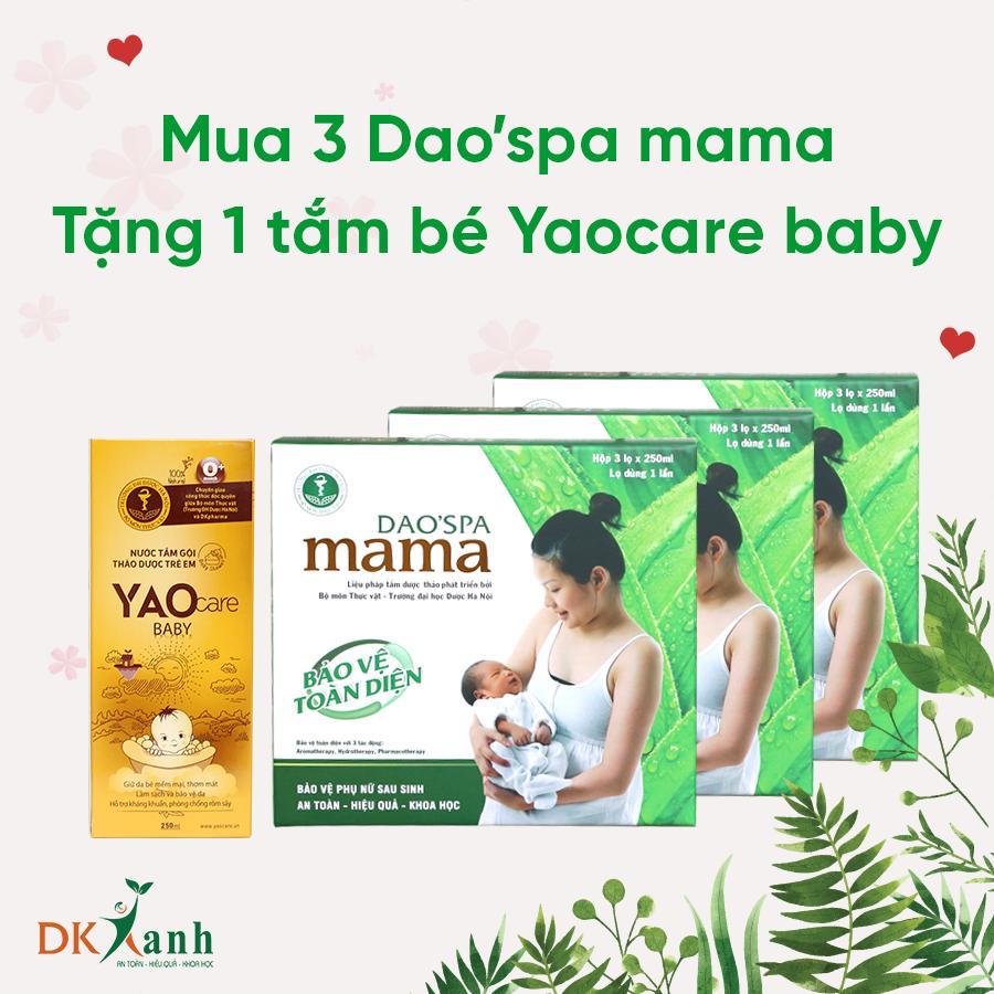 03 Dao'spa mama tặng Yaocare baby